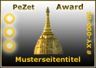 PeZet Award 3 Sonnen